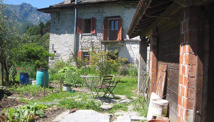 Garten Camminovivente Tessin