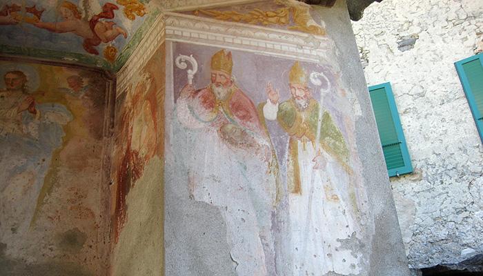 Malerei Kapelle Tessin